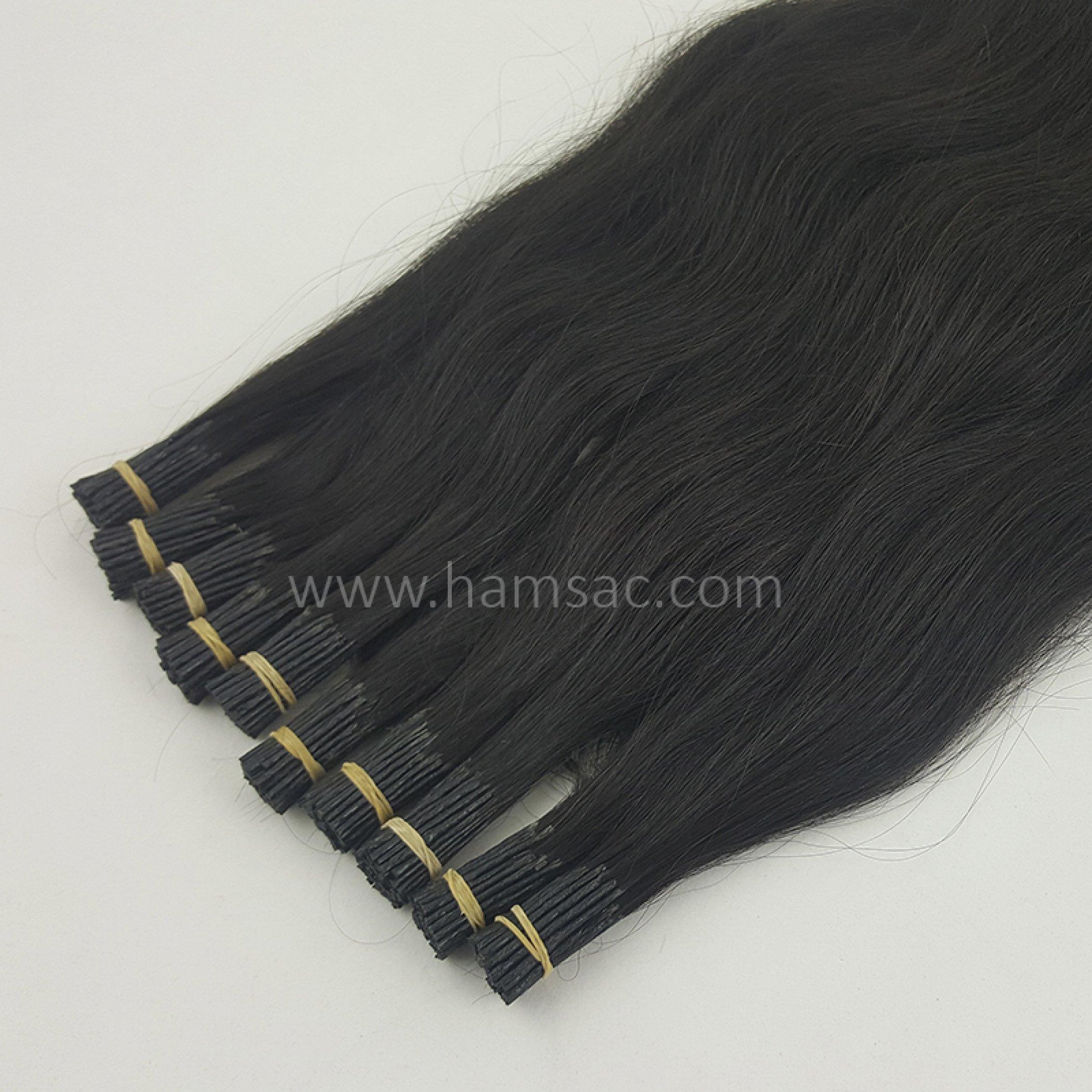 50 cm Doğal Boncuk Kaynak Saç
