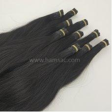 60 cm Doğal Boncuk Kaynak Saç