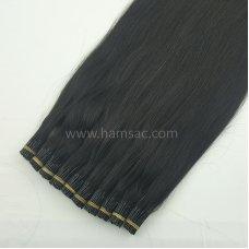 70 cm Doğal Boncuk Kaynak Saç