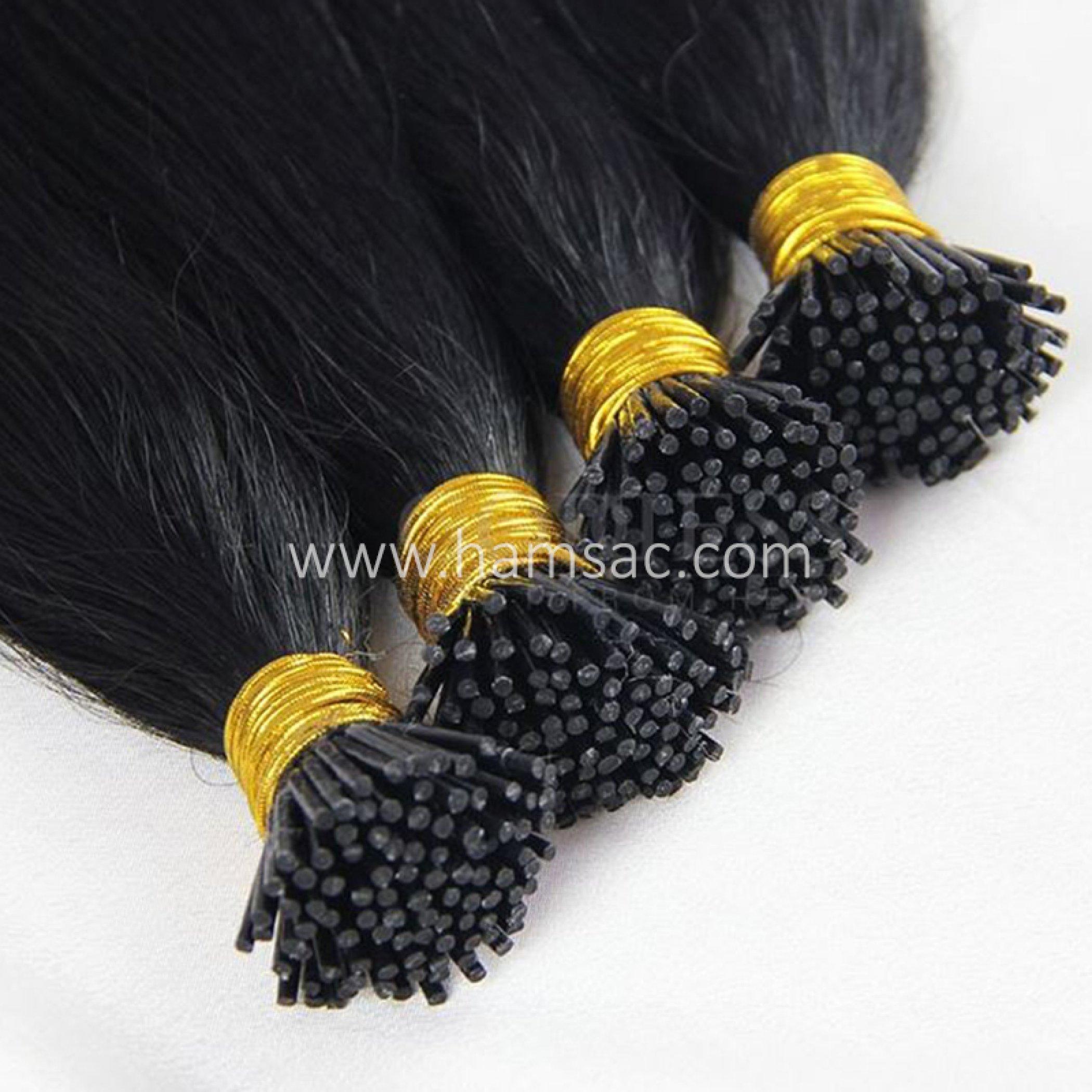 75 cm Doğal Boncuk Kaynak Saç