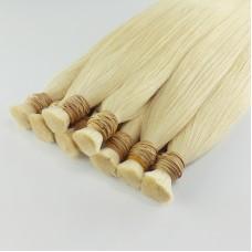 HAM SAÇ - Platin Sarı 80CM Gerçek Saç Garantili Kaliteli Platin Saçlar