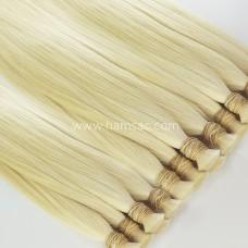 HAM SAÇ - Platin Sarı 73CM Gerçek Saç Garantili Birinci Kalite Platin Saçlar