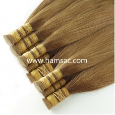 HAM SAÇ -  Kahverengi 40-43 CM Garantili Gerçek Ham Saçlar