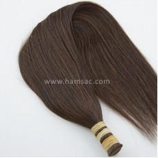 HAM SAÇ - Renk #2- 65CM  Gerçek Saçlar
