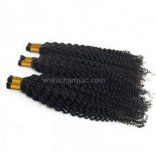 50 cm Permalı kıvırcık Saç  Doğal Boyasız Saçlar