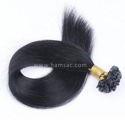 45 cm Doğal Mikro Kaynak Saç