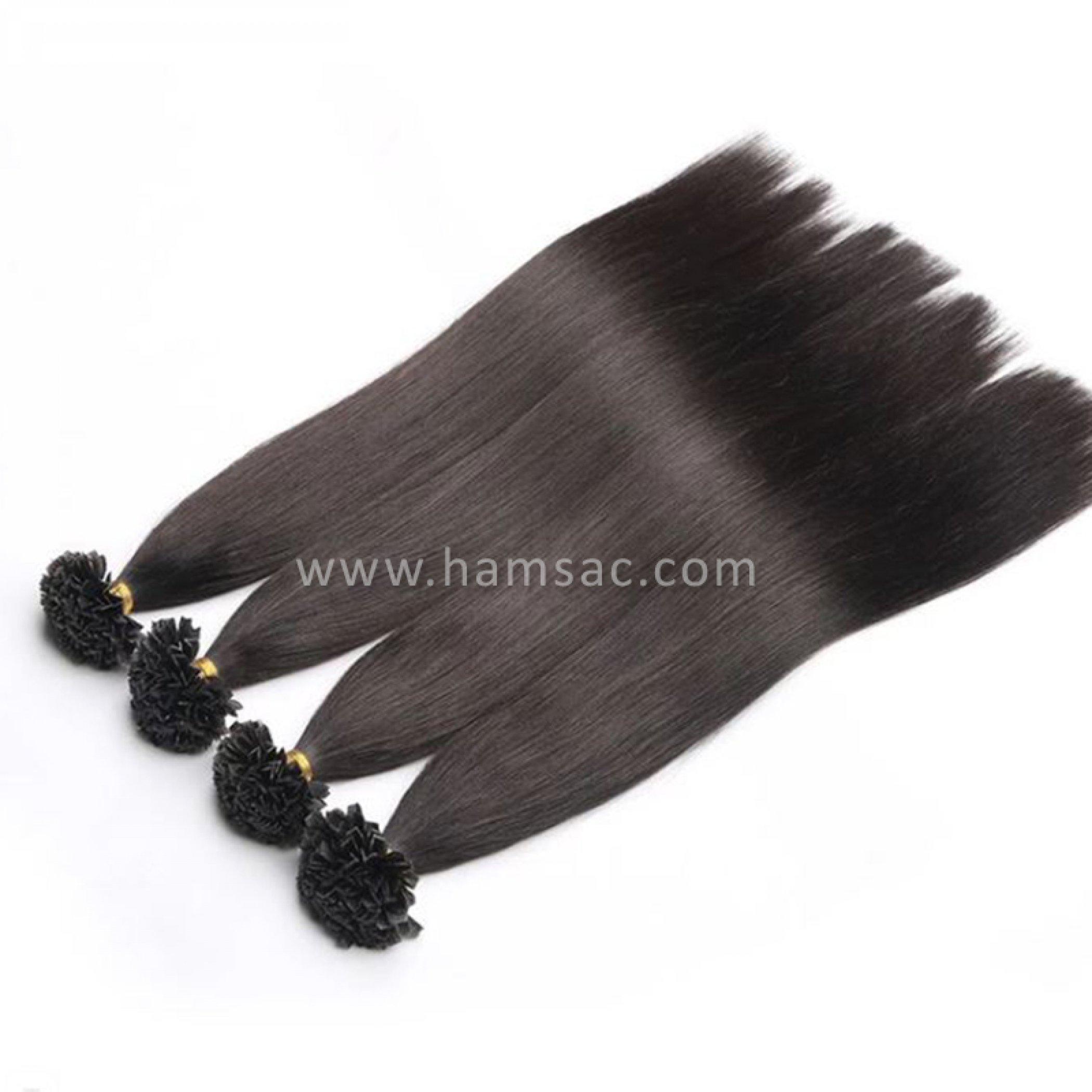 50 cm Doğal Mikro Boncuk Kaynak Saç