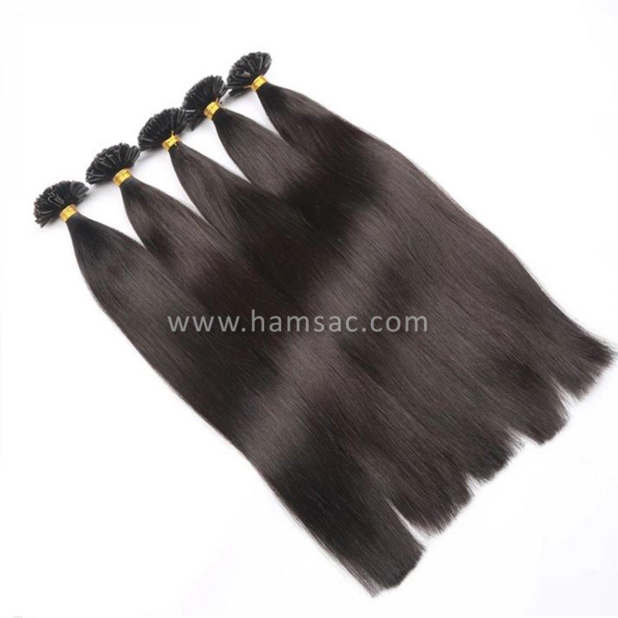 55 cm Doğal Mikro Kaynak Saç