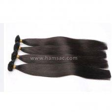90 cm Doğal Mikro Kaynak Saç