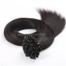 65 cm Doğal Mikro Kaynak Saç