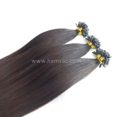 80 cm Doğal Mikro Kaynak Saç