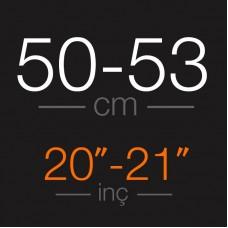 HAM SAÇ - Açık Kahve Tonlar 50 - 53 CM Garantili Gerçek Ham Saçlar