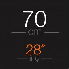 70 cm  Platin Mikro Kaynak Saç